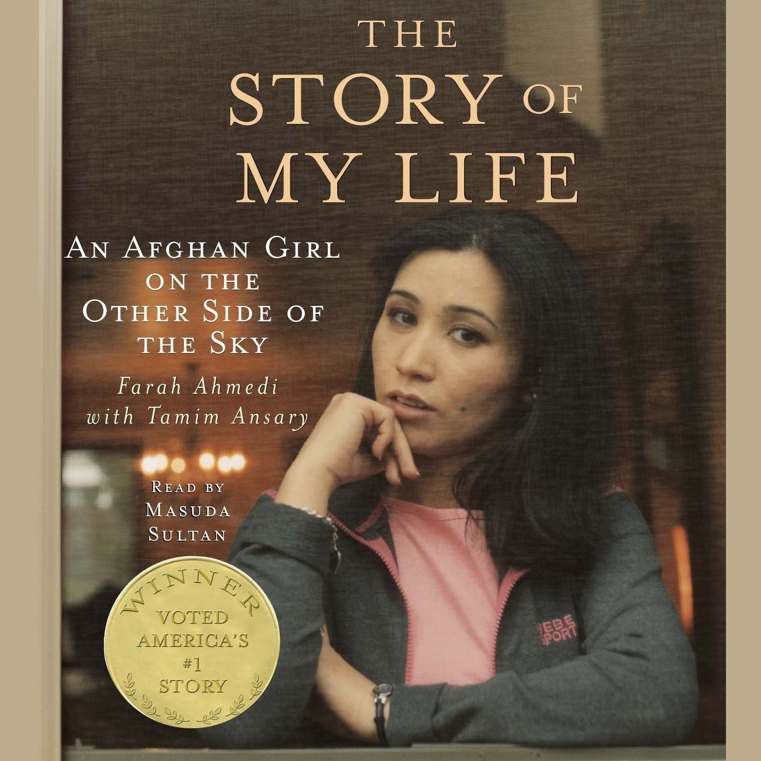 Printable The Story of My Life: An Afghan Girl on the Other Side of the Sky Audiobook Cover Art