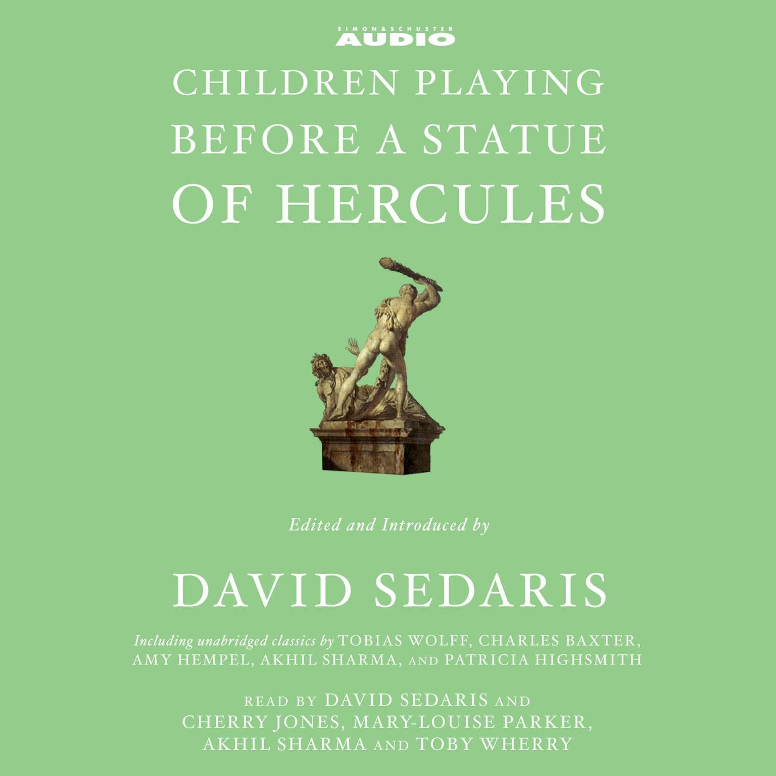 Printable Children Playing Before a Statue of Hercules Audiobook Cover Art