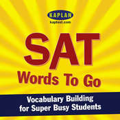 SAT Words to Go: Vocabulary Building for Super Busy Students Audiobook, by Kaplan