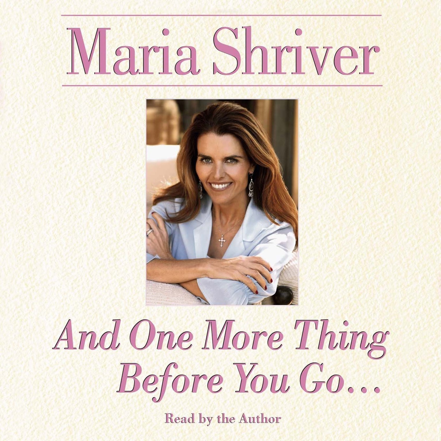 Printable And One More Thing Before You Go… Audiobook Cover Art