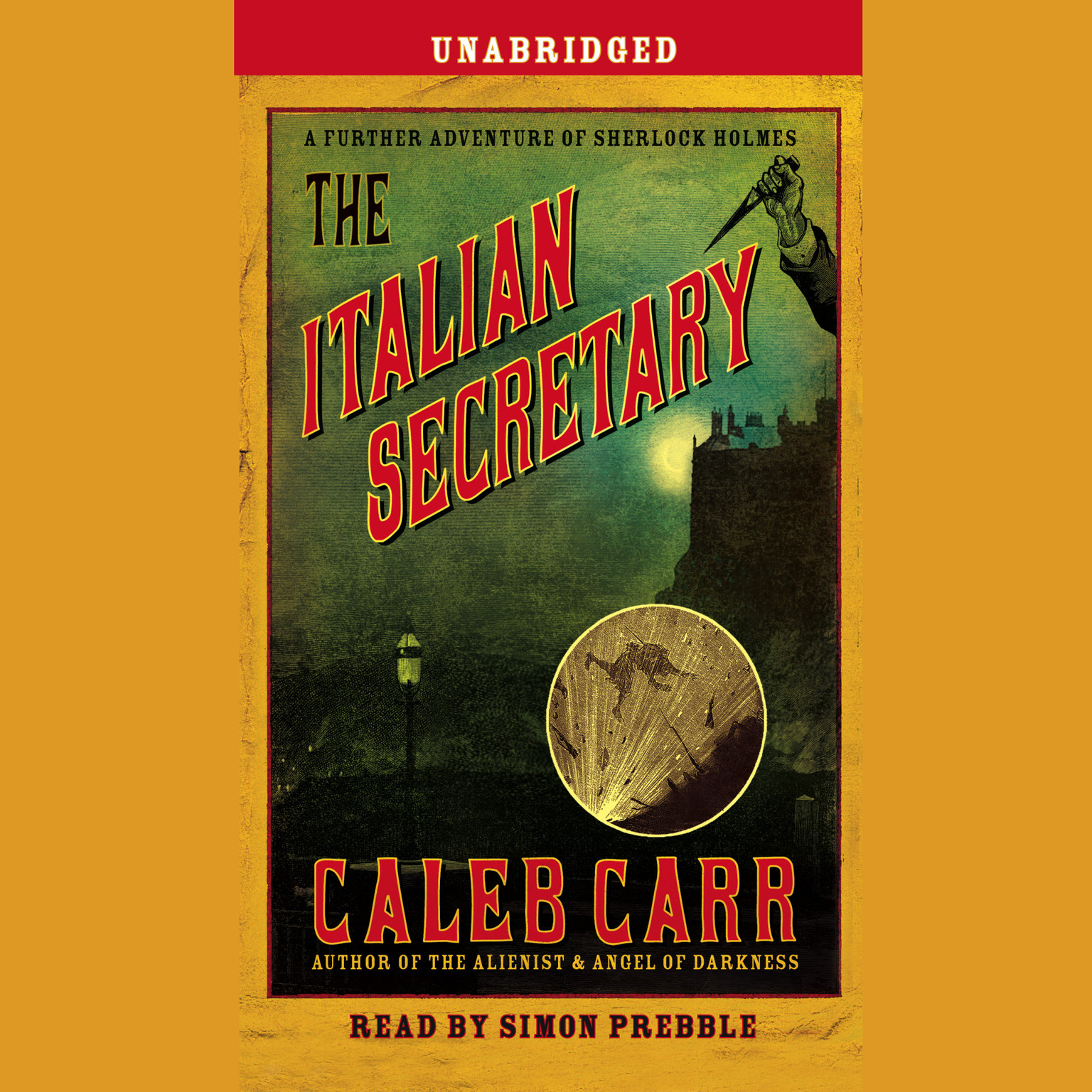Printable The Italian Secretary Audiobook Cover Art