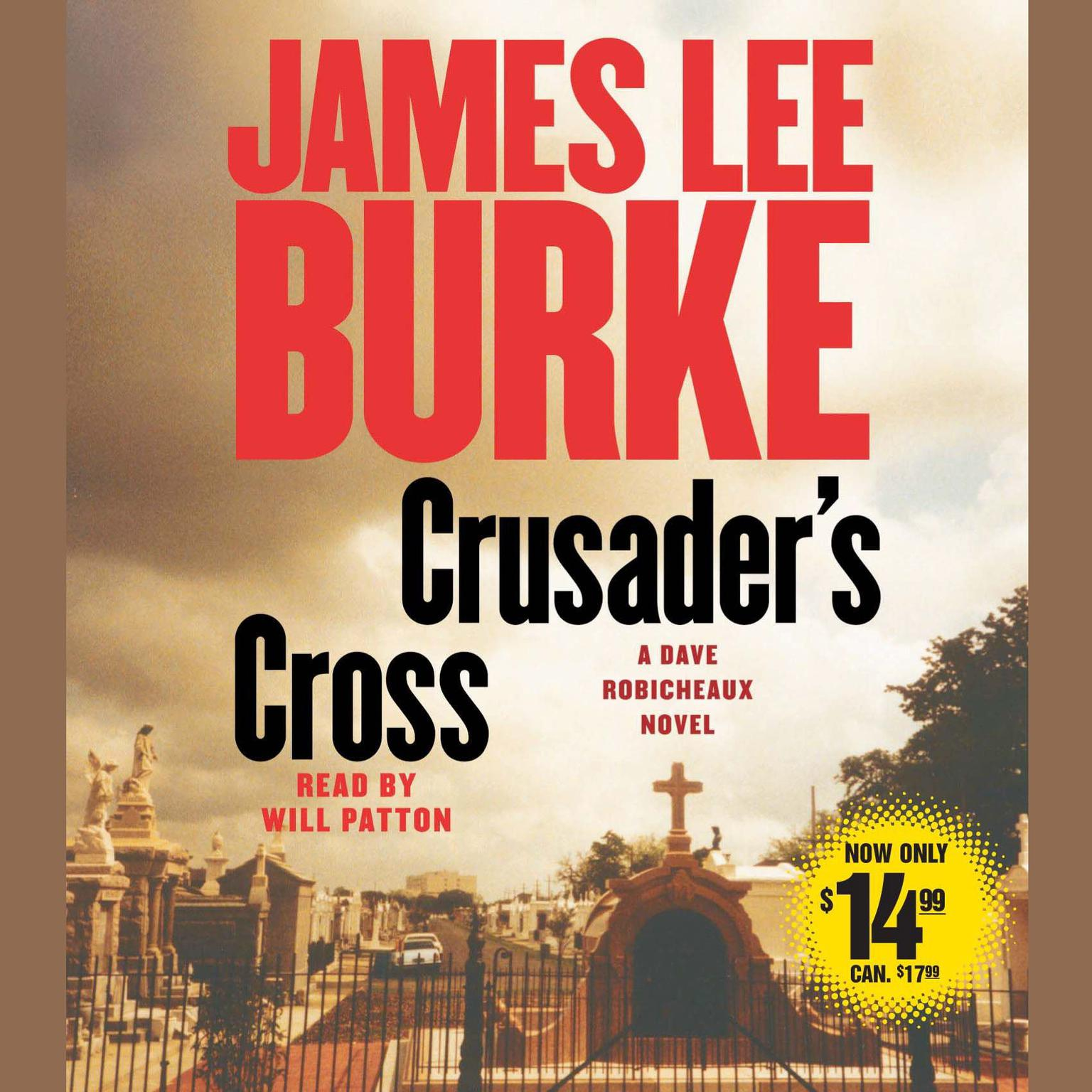 Printable Crusader's Cross (Abridged): A Dave Robicheaux Novel Audiobook Cover Art