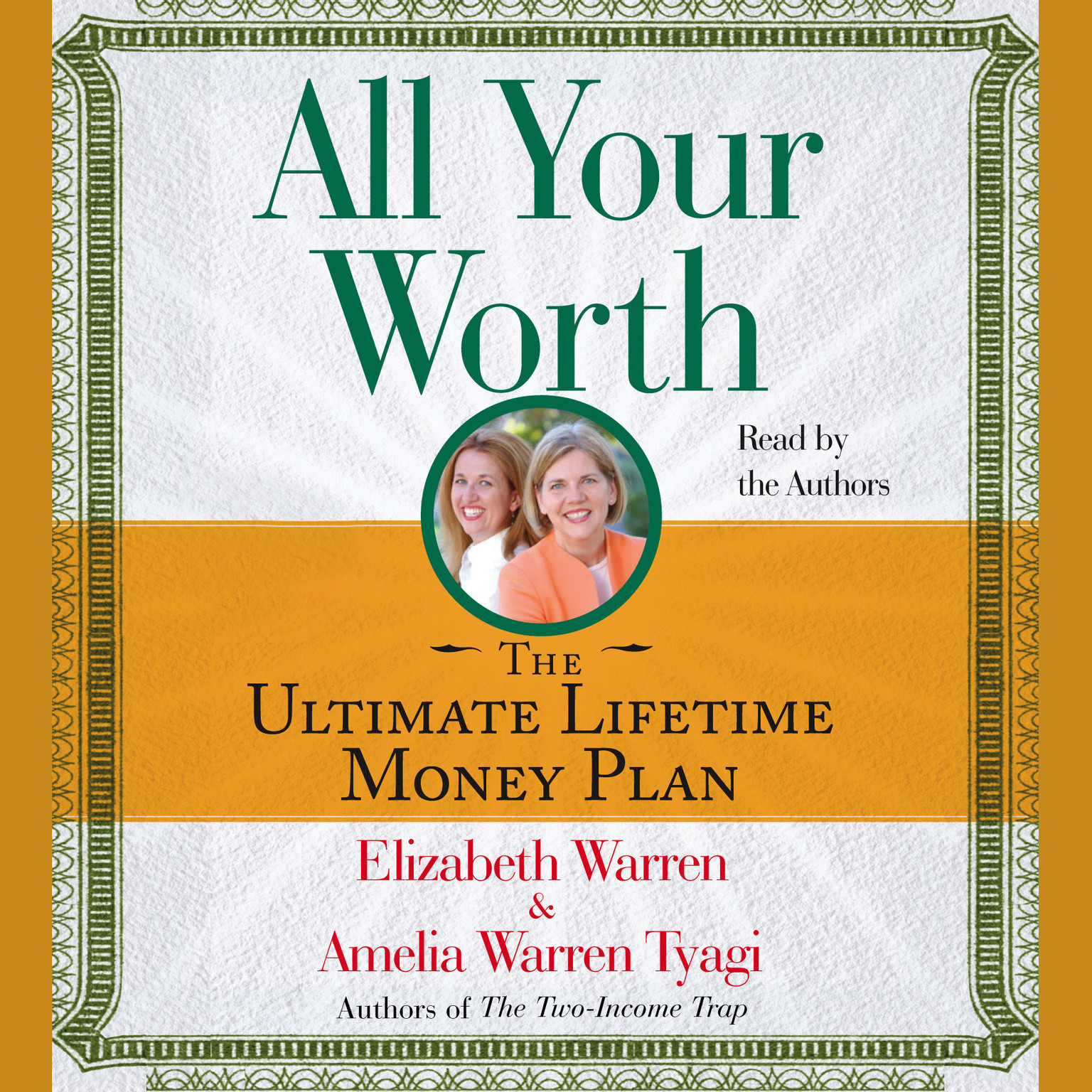 Printable All Your Worth: The Ultimate Lifetime Money Plan Audiobook Cover Art