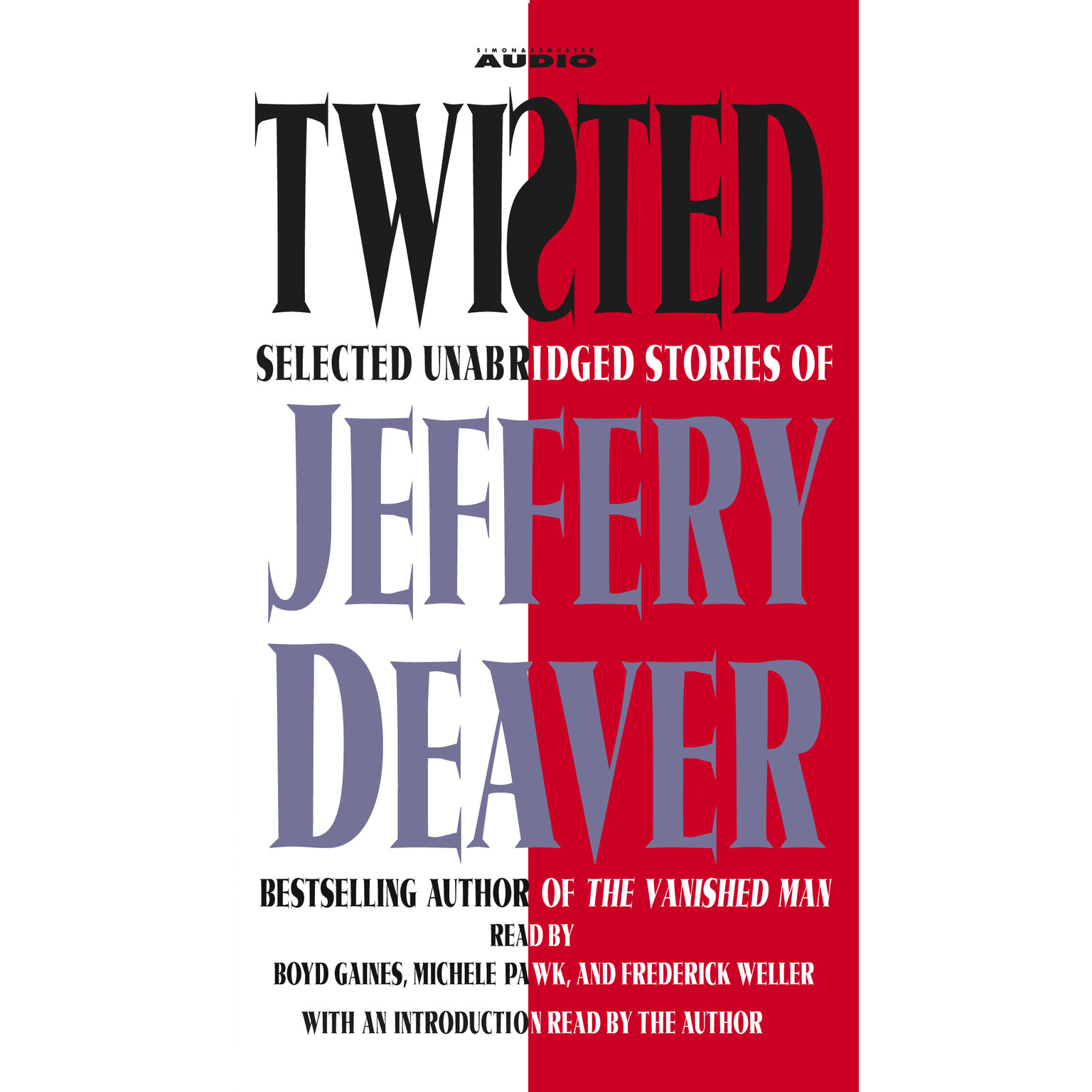 Printable Twisted: The Collected Stories of Jeffrey Deaver Audiobook Cover Art