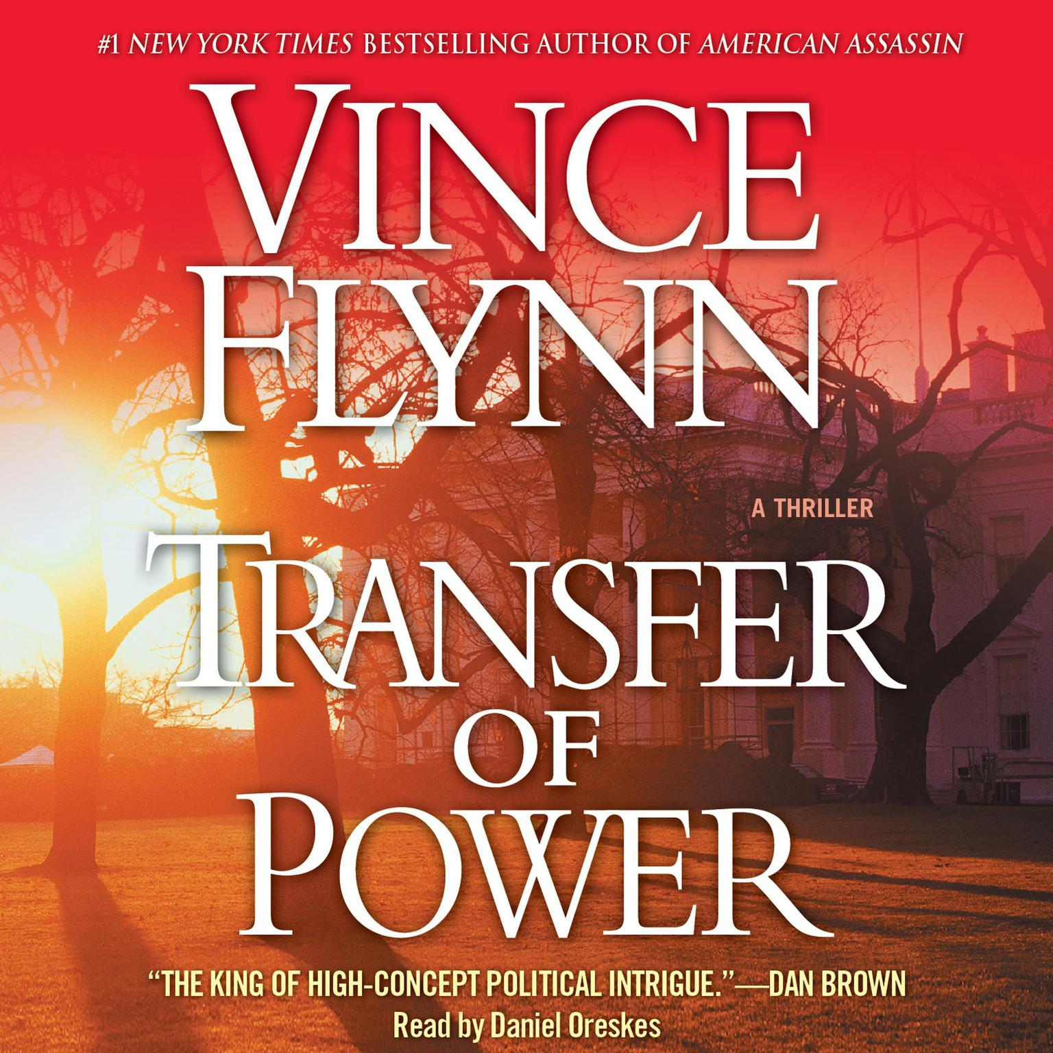 Printable Transfer of Power Audiobook Cover Art