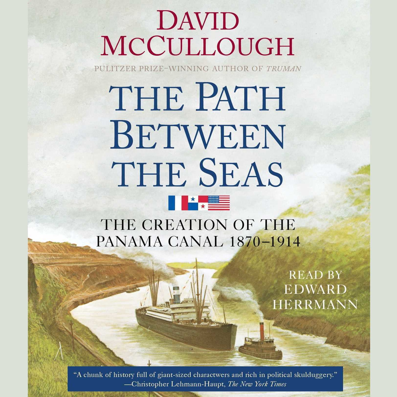 Printable The Path Between the Seas: The Creation of the Panama Canal, 1870-1914 Audiobook Cover Art