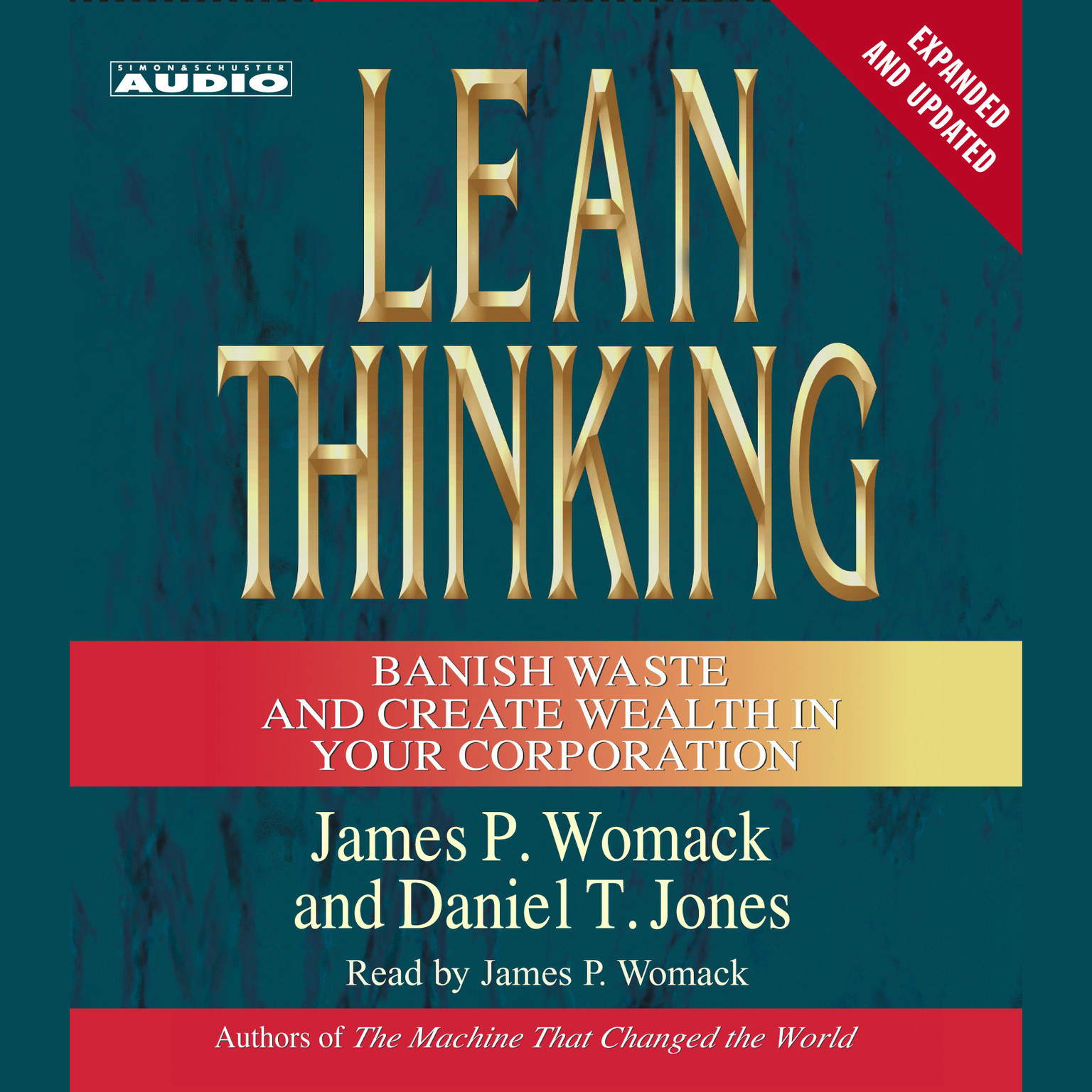 Printable Lean Thinking: Banish Waste and Create Wealth in Your Corporation, 2nd Ed Audiobook Cover Art