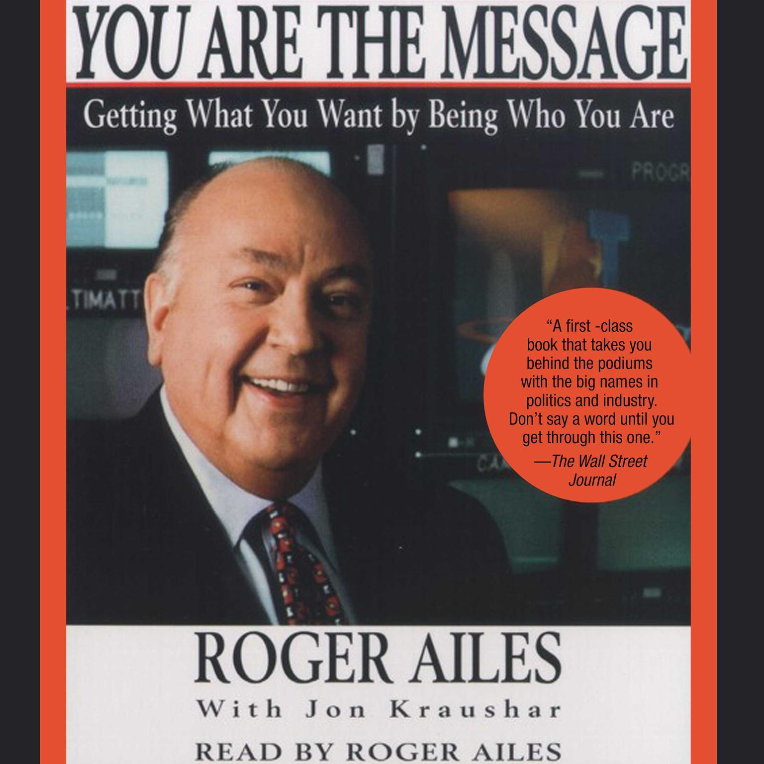 Printable You Are the Message Audiobook Cover Art