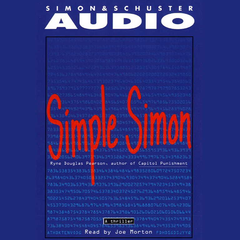 Printable Simple Simon Audiobook Cover Art