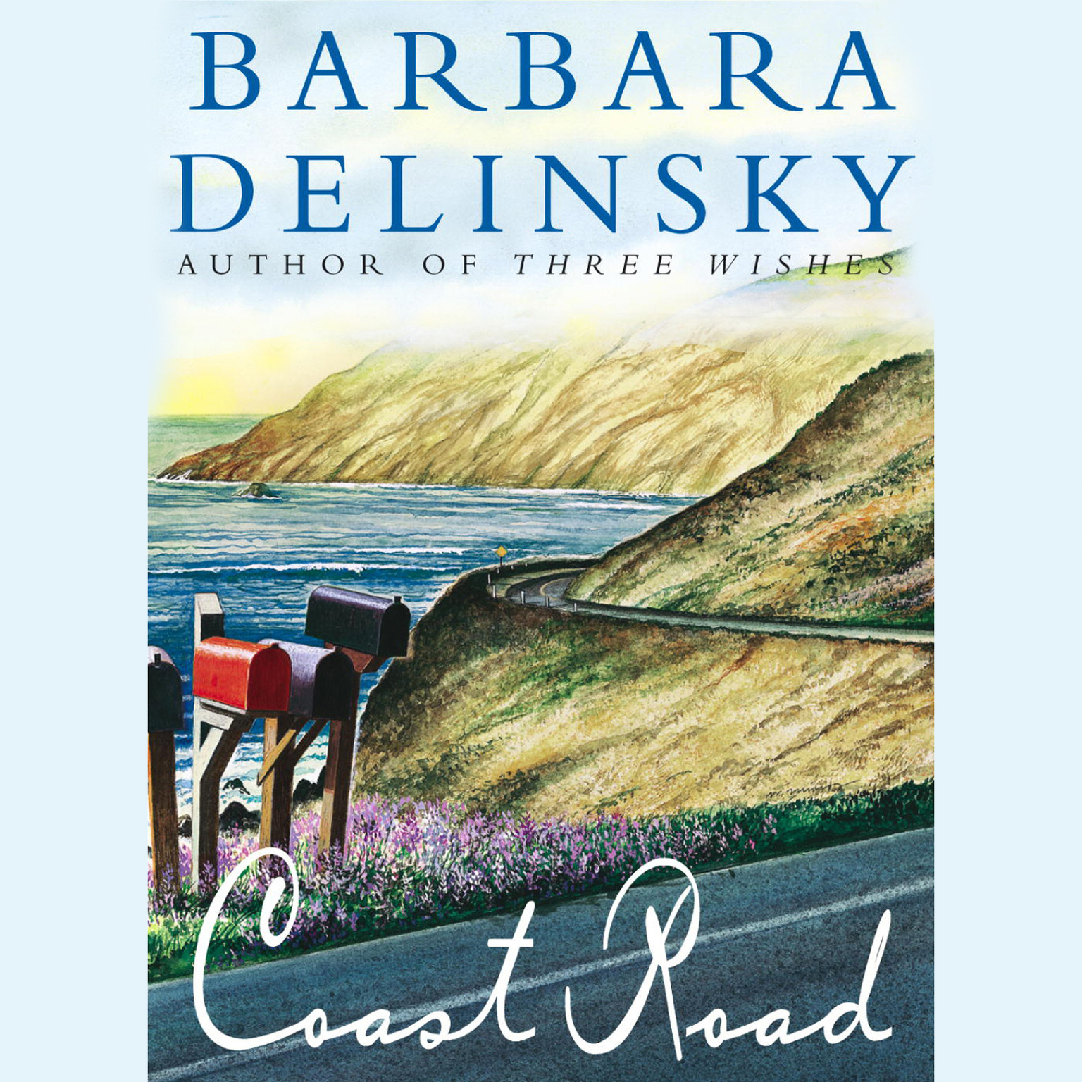 Printable Coast Road Audiobook Cover Art