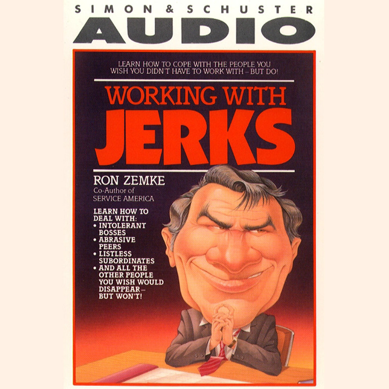 Printable Working with Jerks Audiobook Cover Art