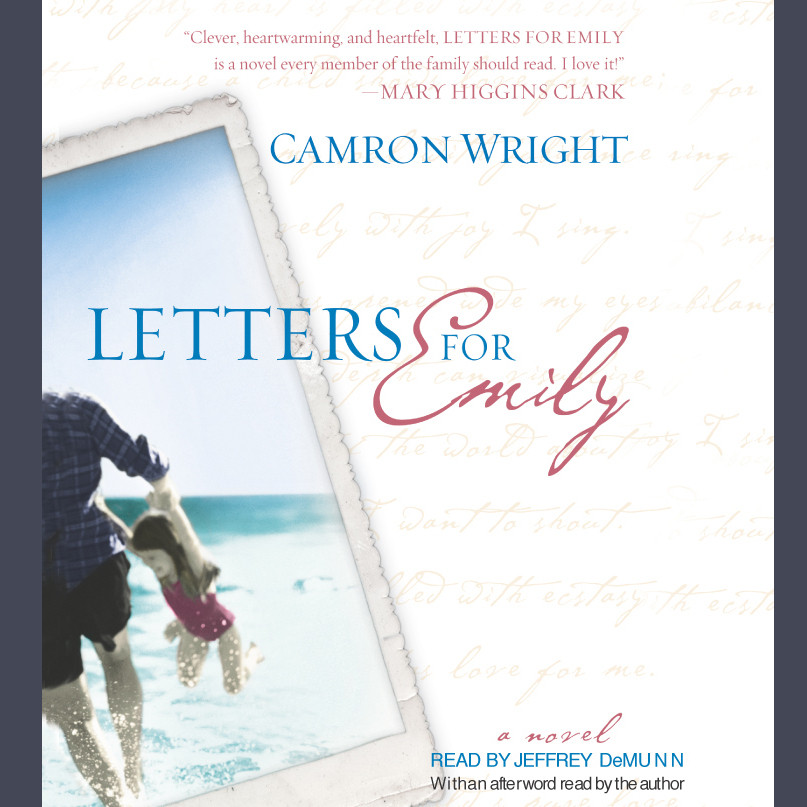Printable Letters for Emily Audiobook Cover Art