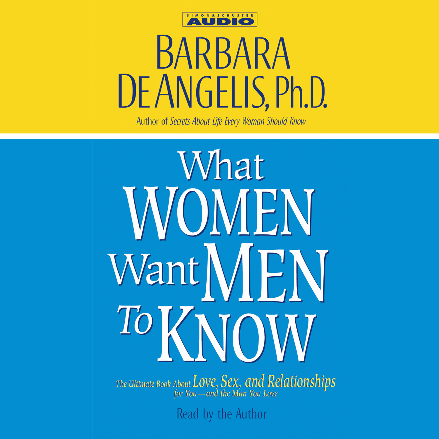 Printable What Women Want Men to Know Audiobook Cover Art