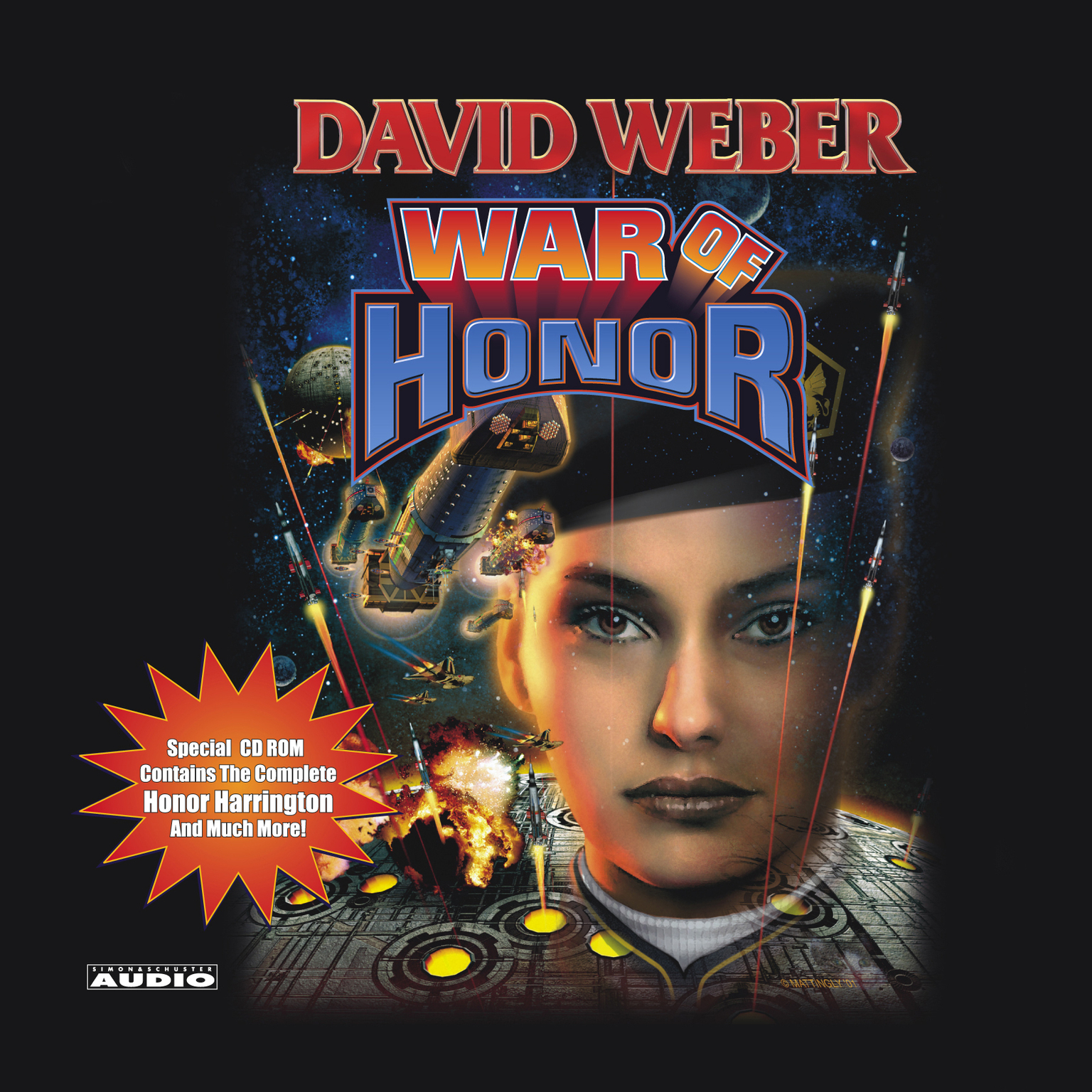 Printable War of Honor Audiobook Cover Art
