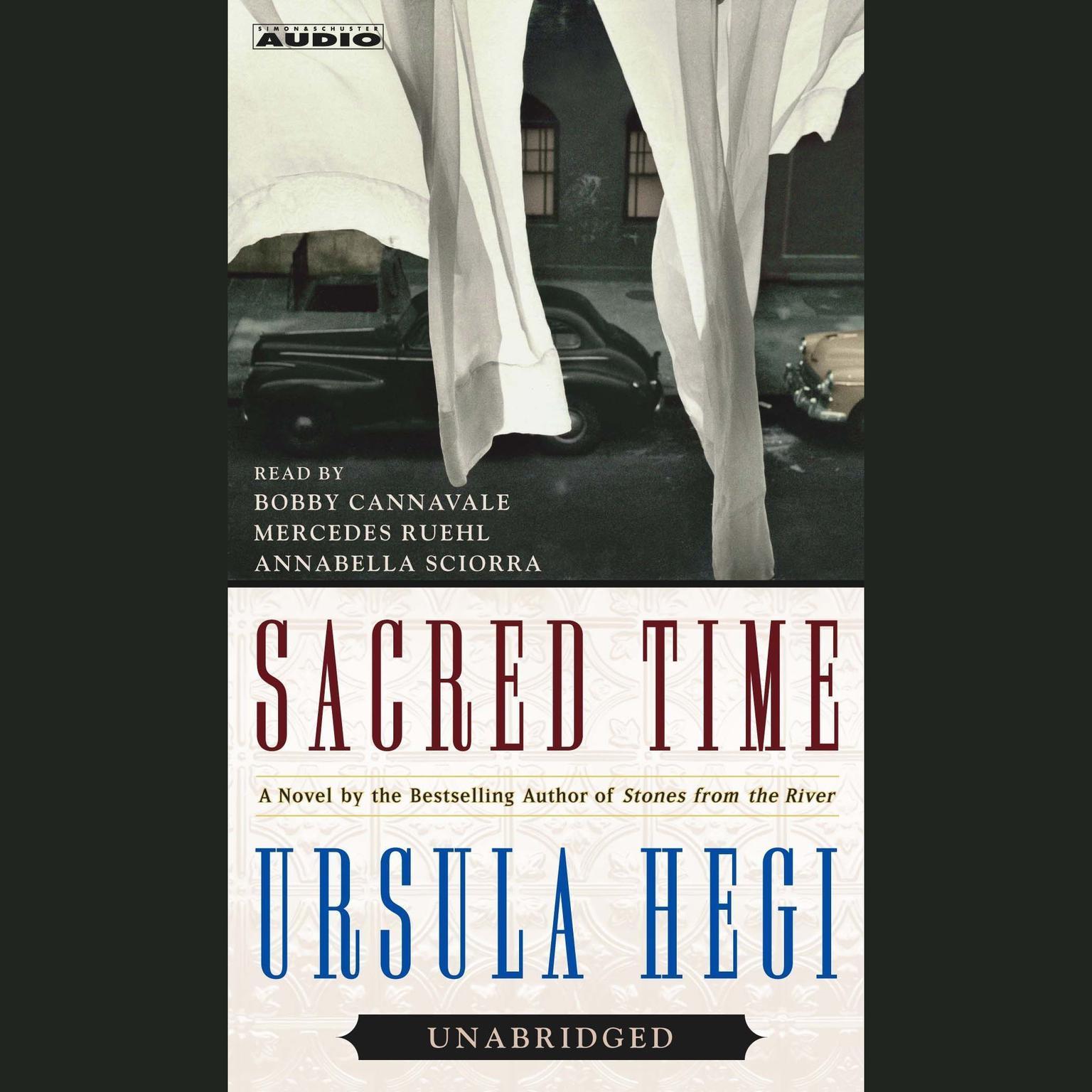 Printable Sacred Time: A Novel Audiobook Cover Art