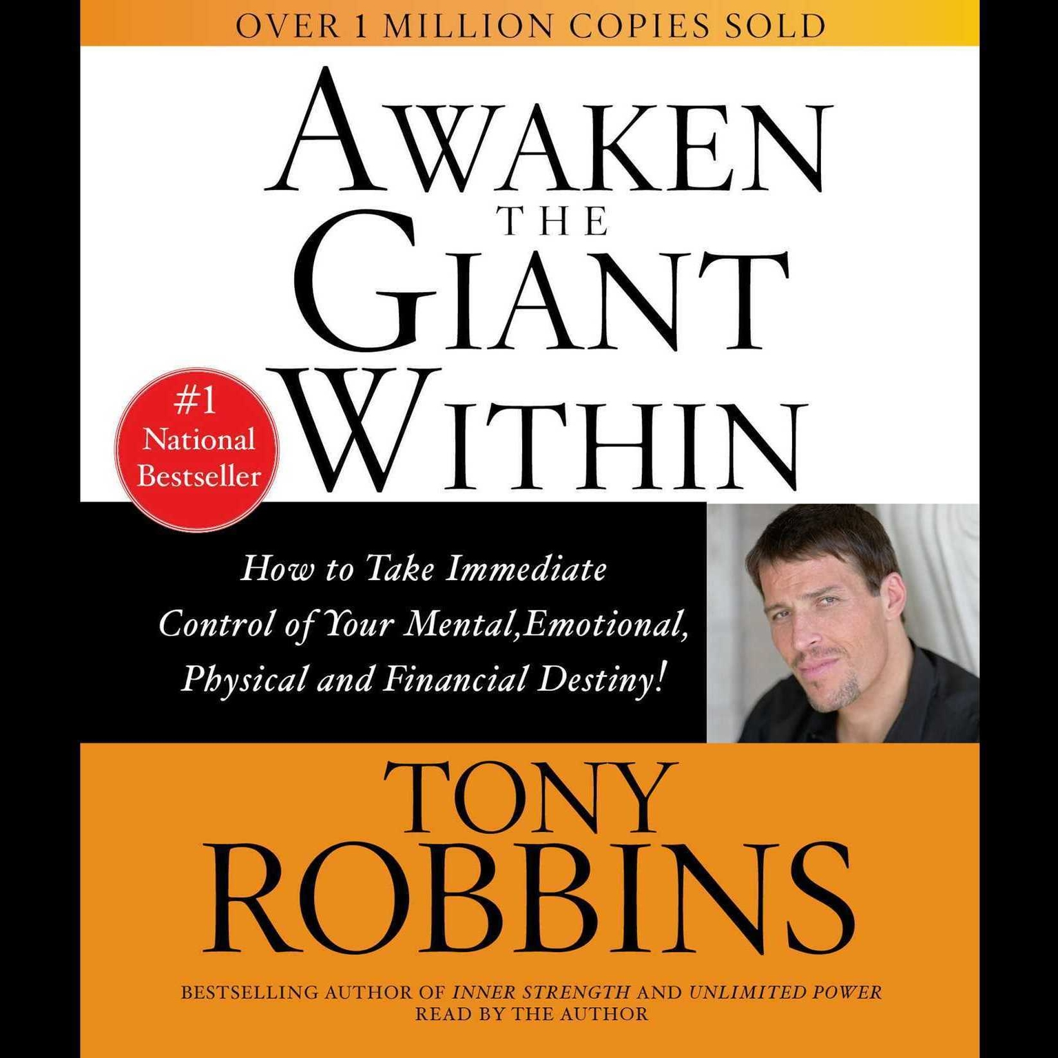 Printable Awaken The Giant Within: How to Take Immediate Control of Your Mental, Emotional, Physical, and Financial Destiny! Audiobook Cover Art