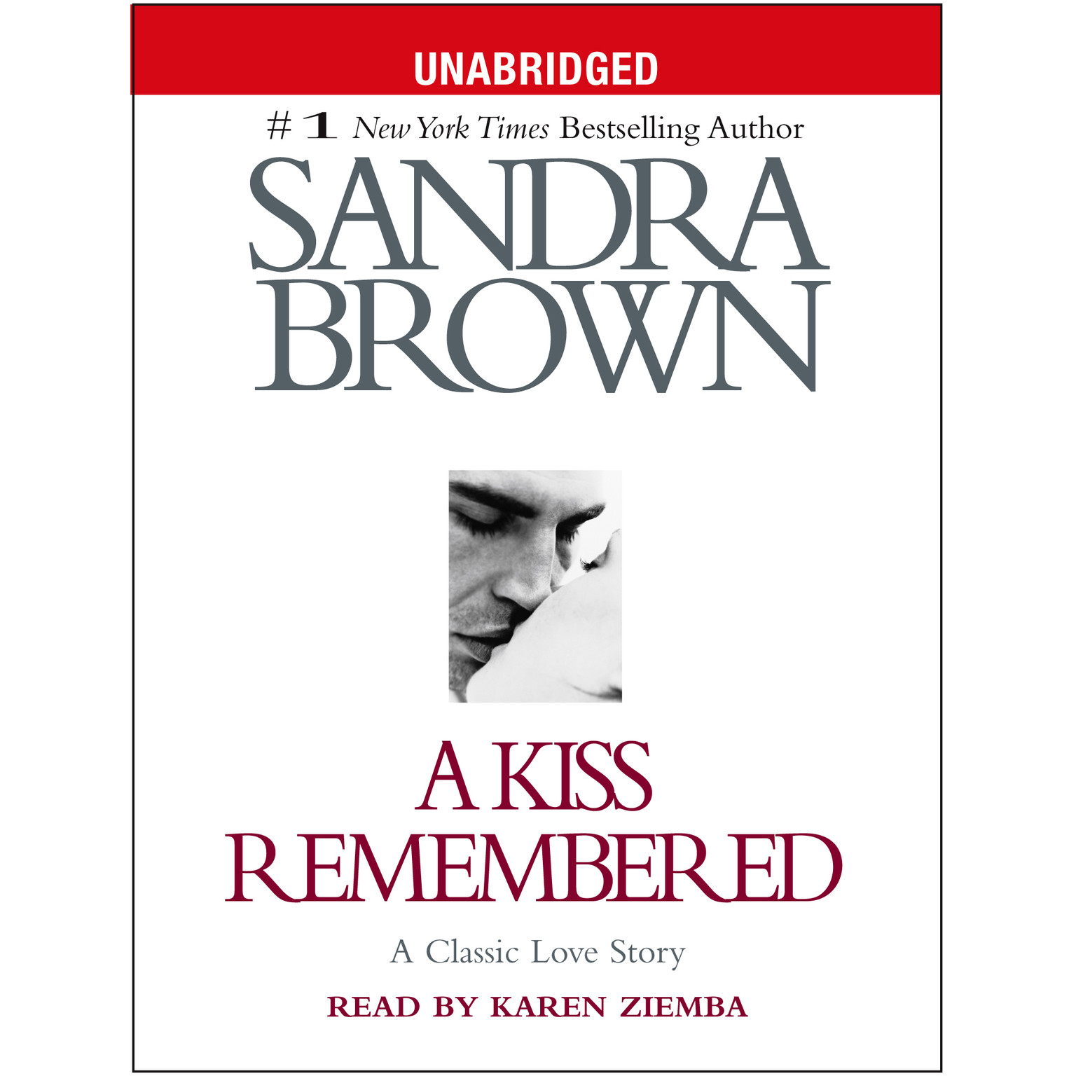 Printable A Kiss Remembered Audiobook Cover Art