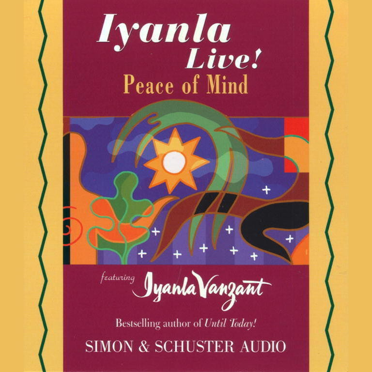 Printable Iyanla Live! Peace of Mind Audiobook Cover Art