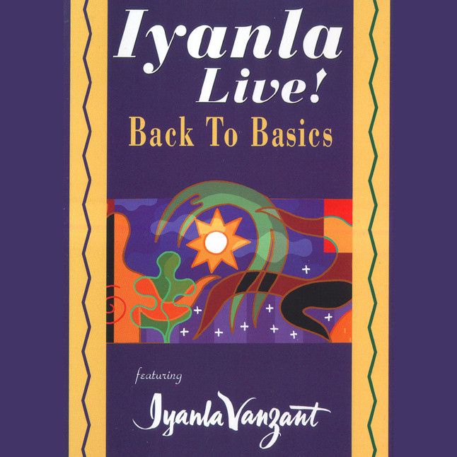 Printable Iyanla Live! Back to Basics Audiobook Cover Art