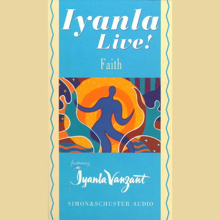 Printable Iyanla Live! Faith Audiobook Cover Art