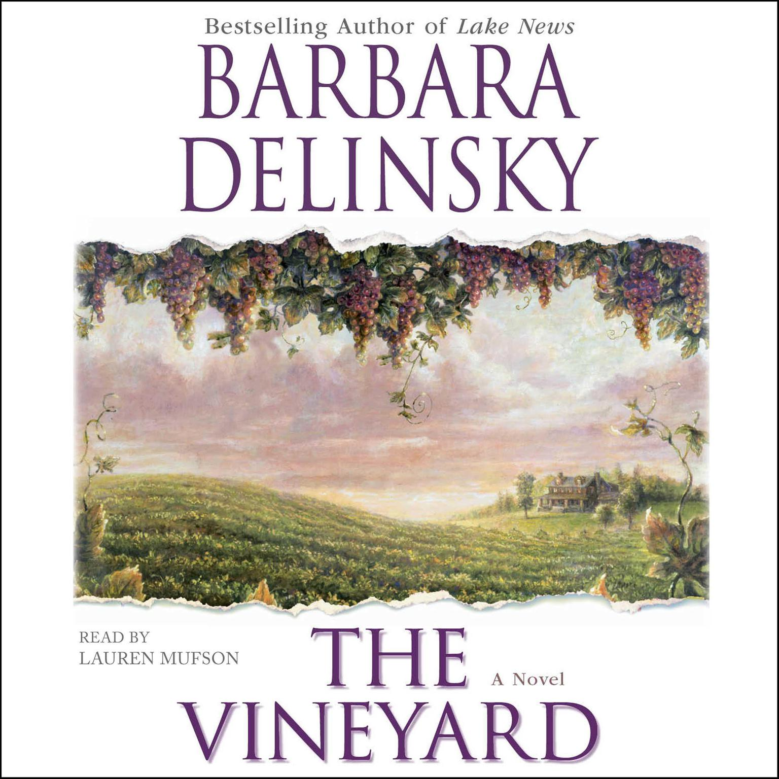 Printable The Vineyard: A Novel Audiobook Cover Art