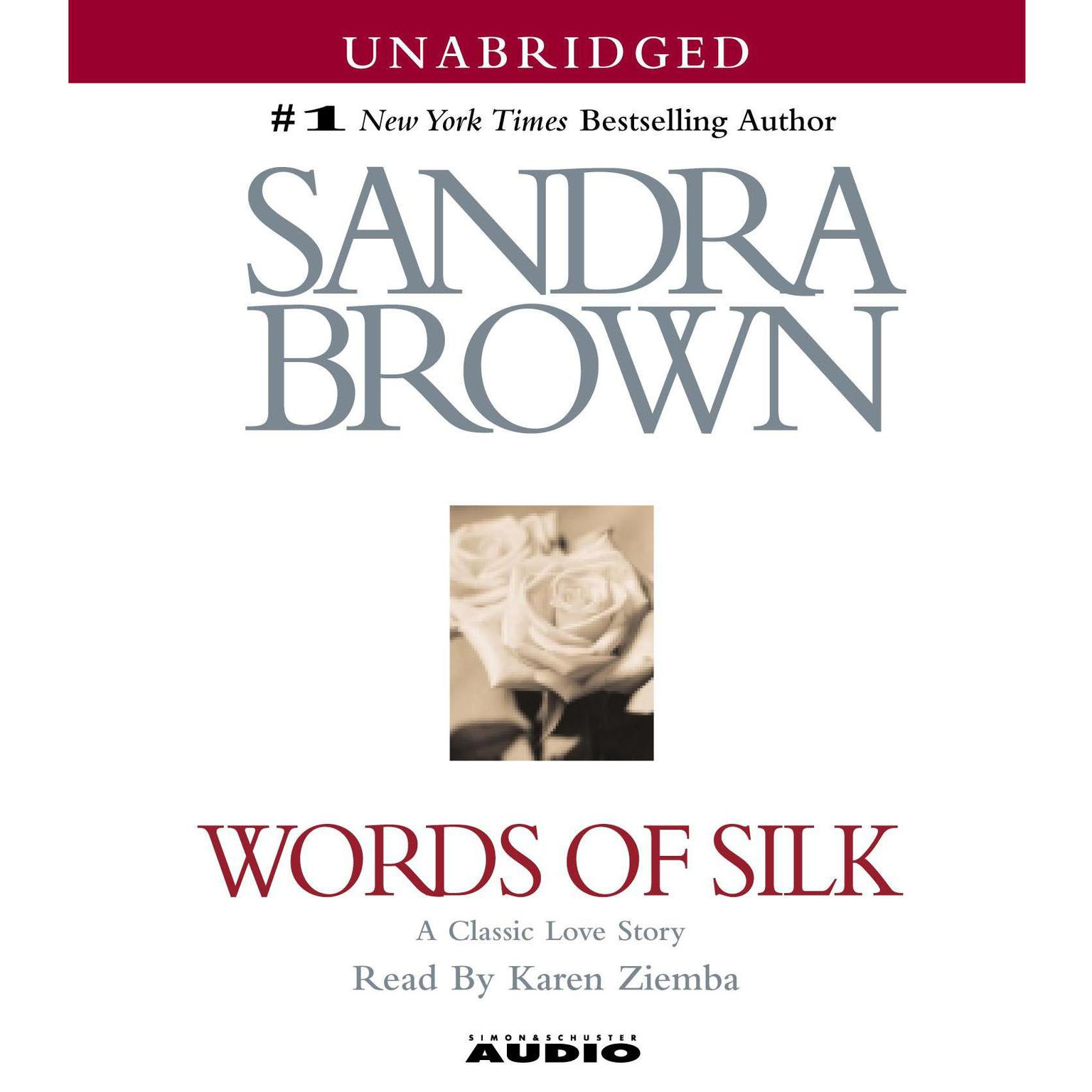 Printable Words of Silk Audiobook Cover Art