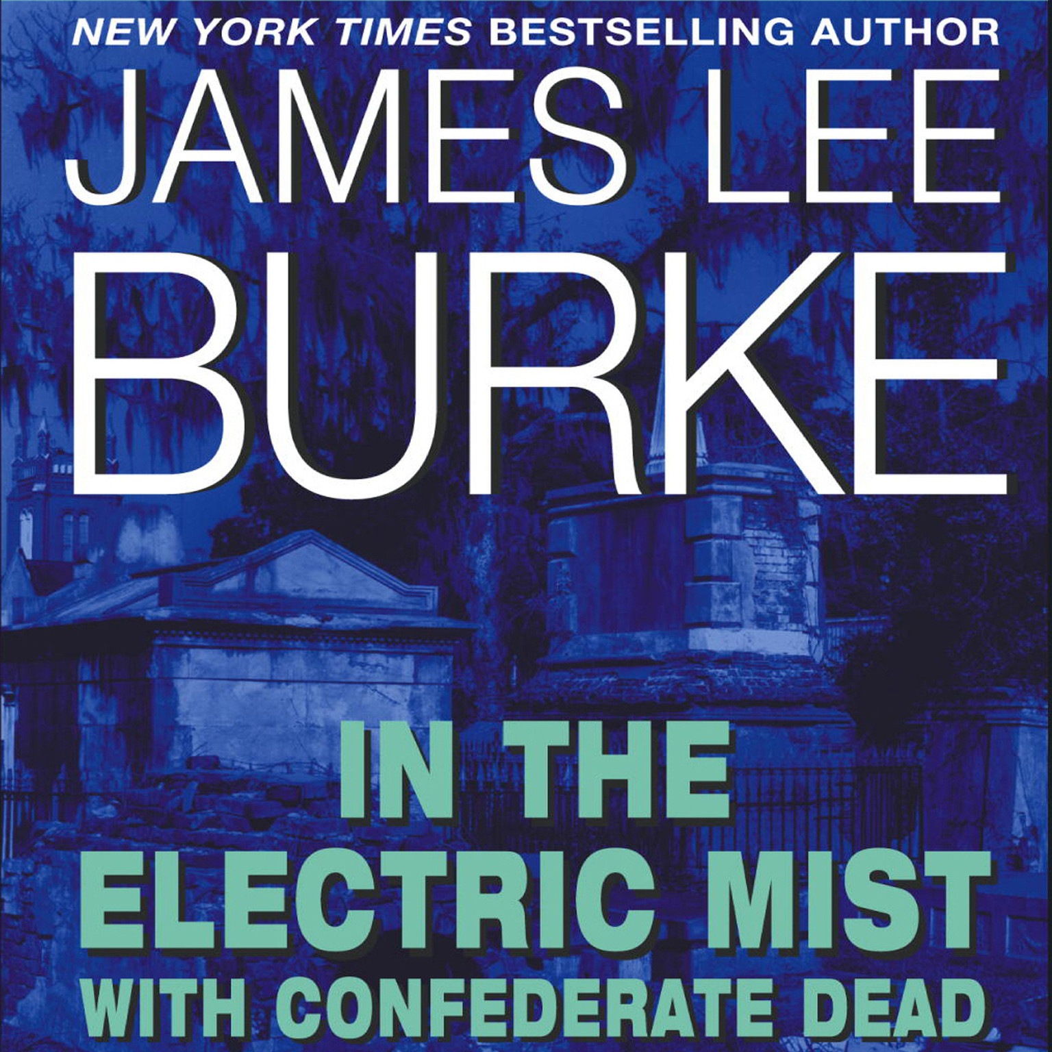 Printable In the Electric Mist with Confederate Dead Audiobook Cover Art