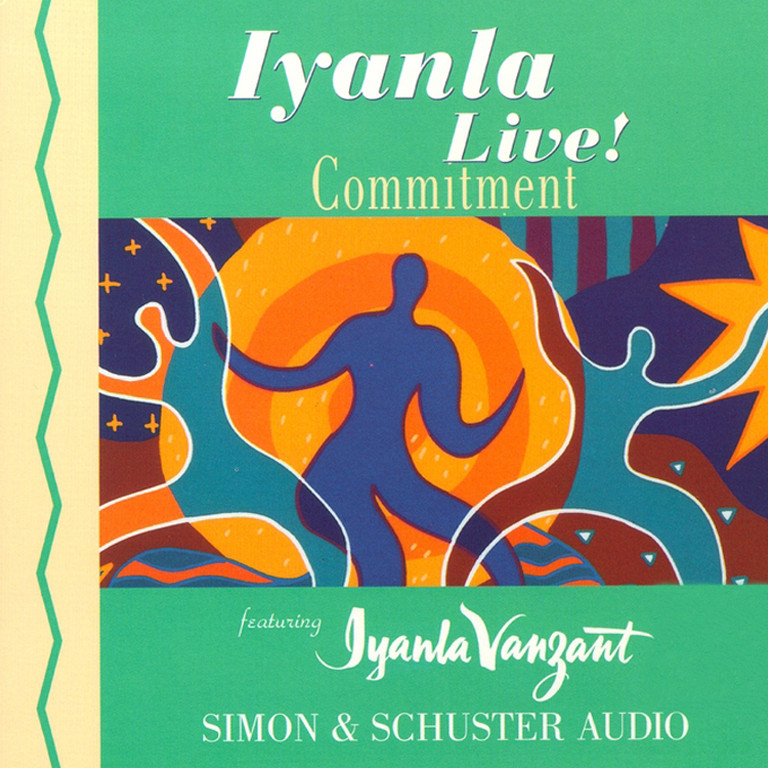 Printable Iyanla Live! Commitment Audiobook Cover Art