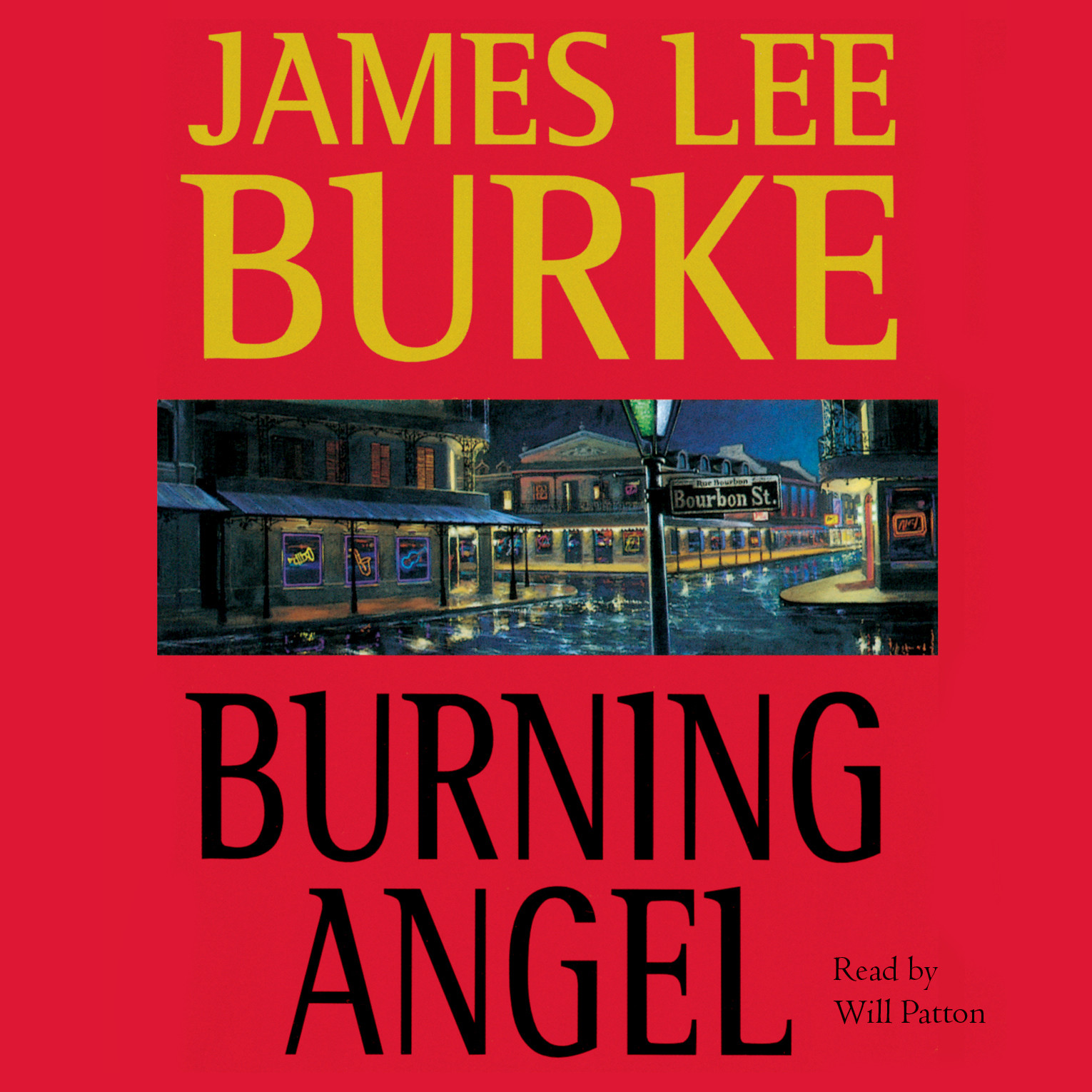 Printable Burning Angel Audiobook Cover Art