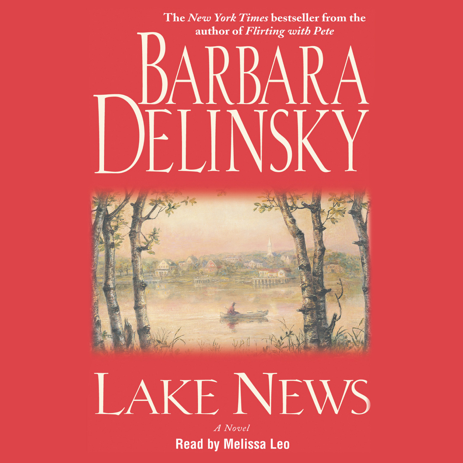 Printable Lake News Audiobook Cover Art