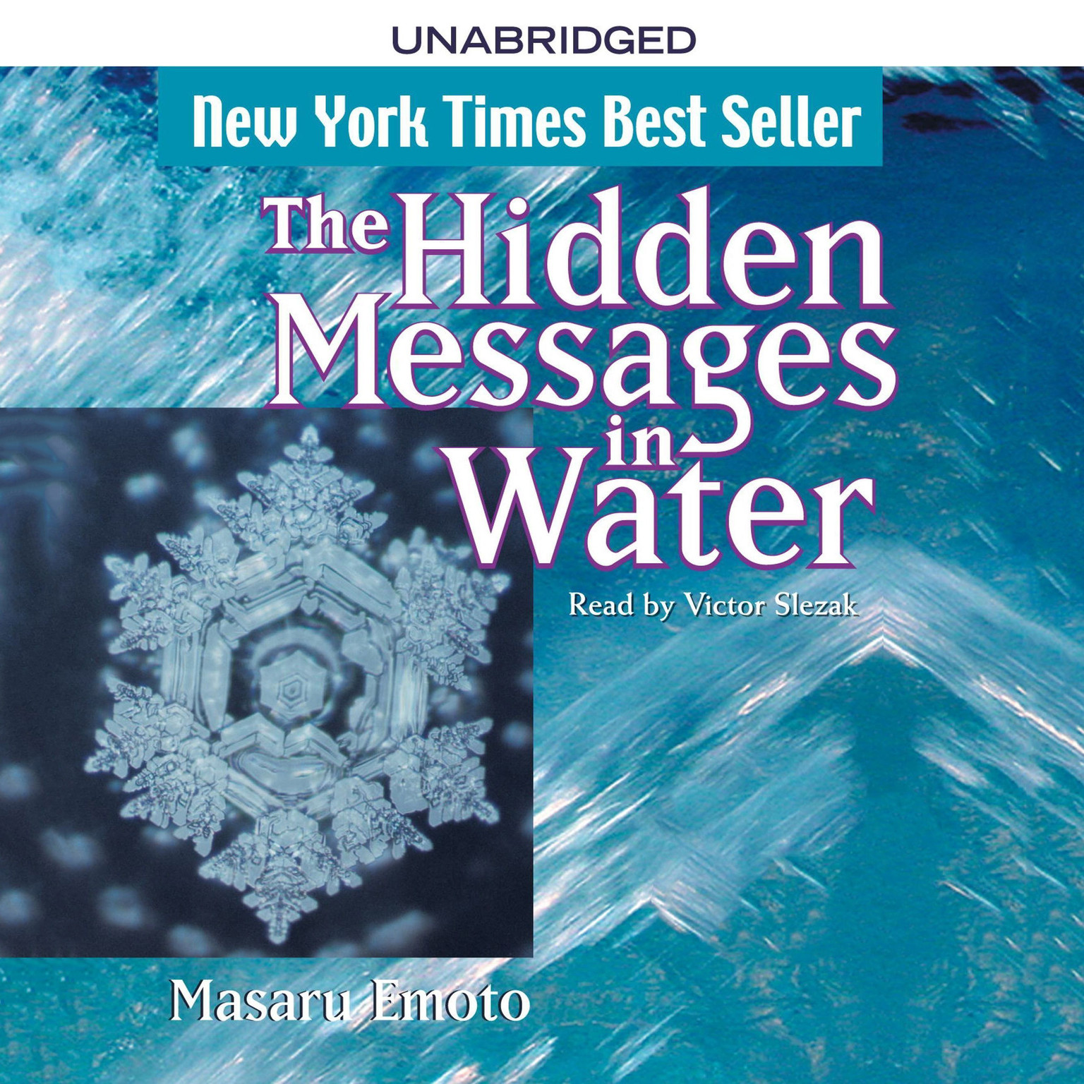 Printable The Hidden Messages in Water Audiobook Cover Art