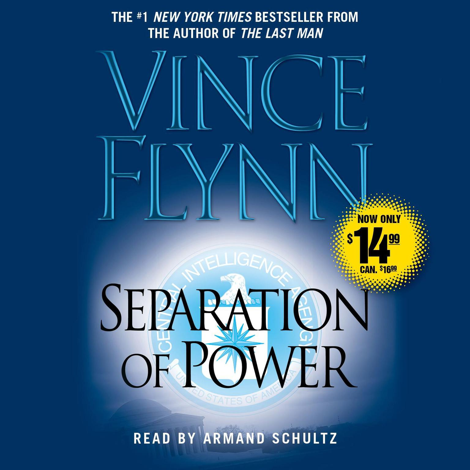 Printable Separation of Power Audiobook Cover Art