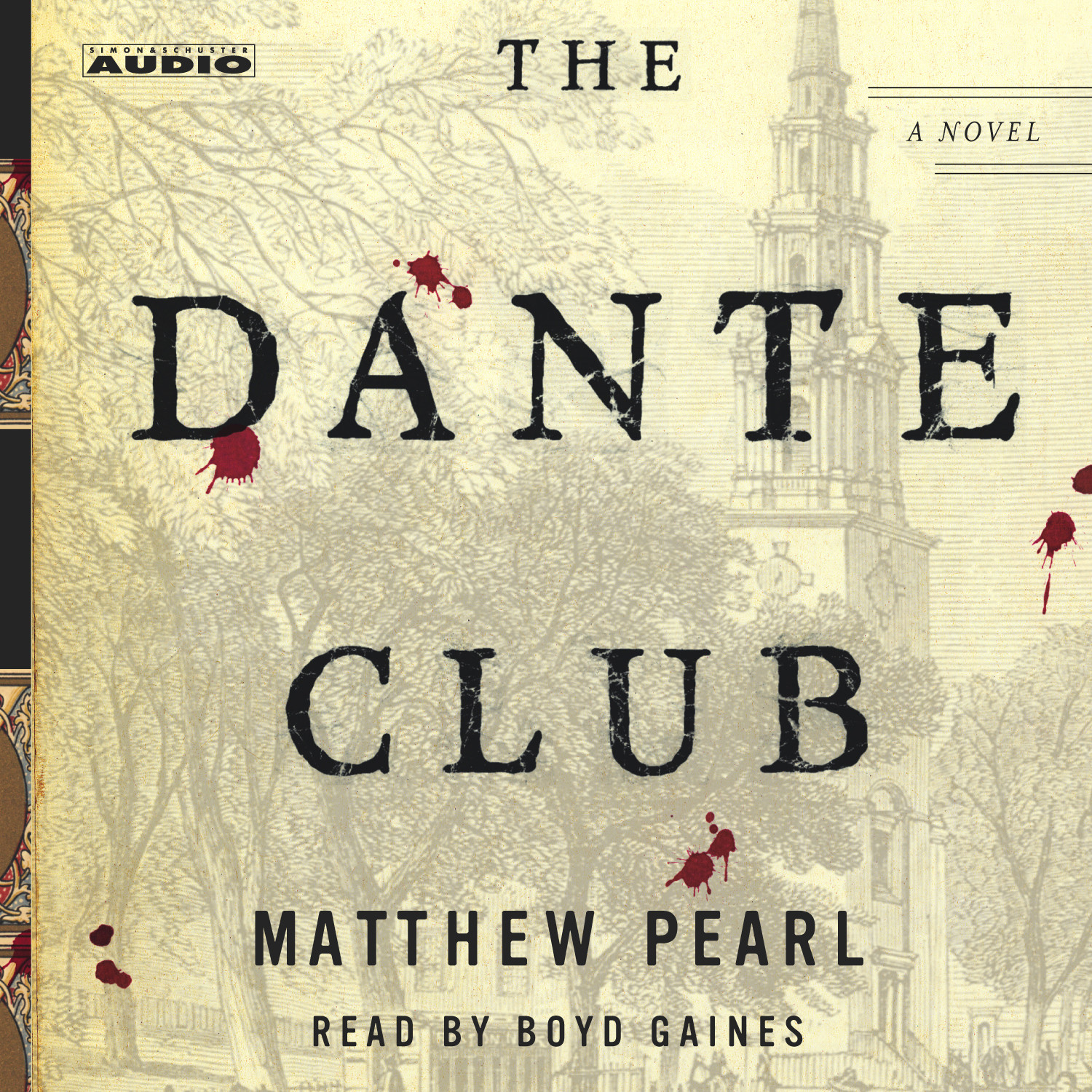 Printable The Dante Club Audiobook Cover Art