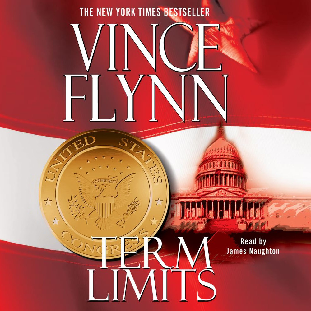 Printable Term Limits Audiobook Cover Art