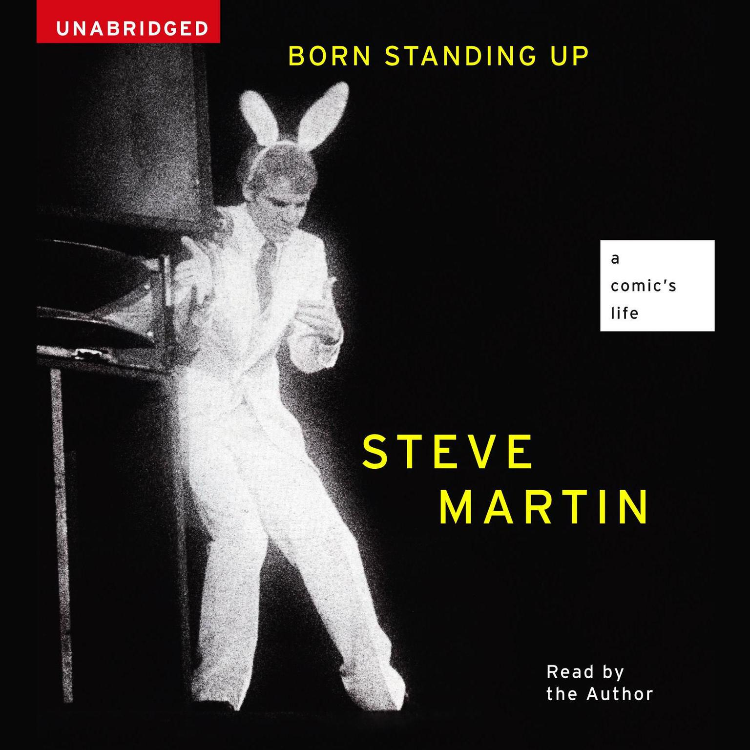 Printable Born Standing Up: A Comic's Life Audiobook Cover Art