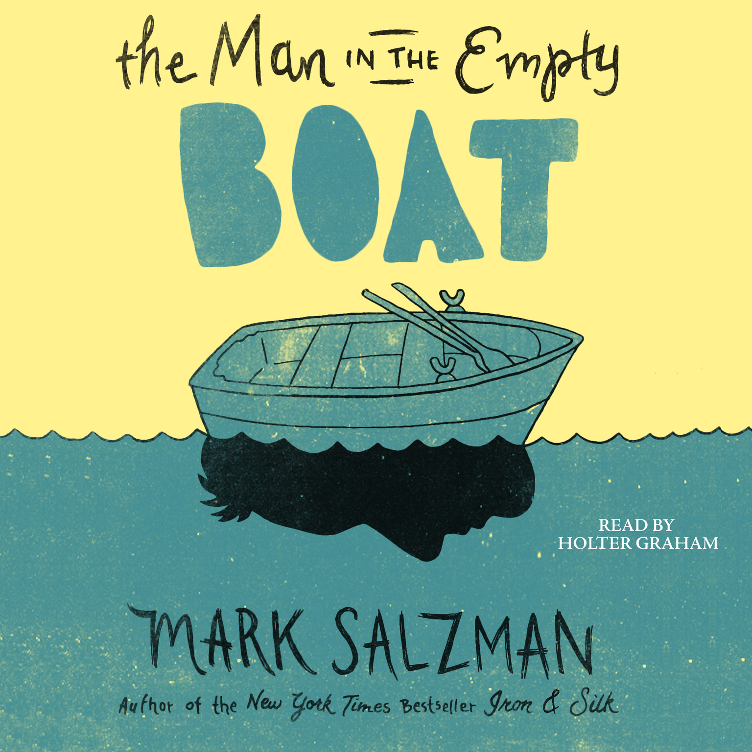 Printable The Man in the Empty Boat Audiobook Cover Art