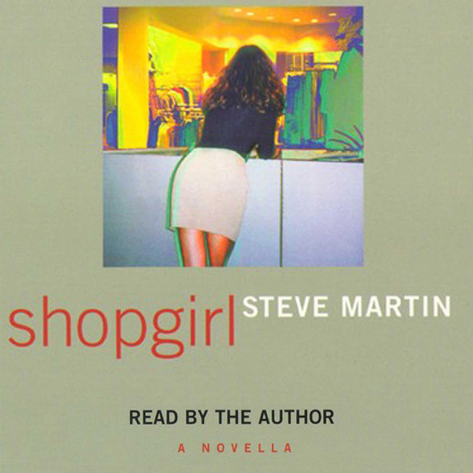 Printable Shopgirl Audiobook Cover Art