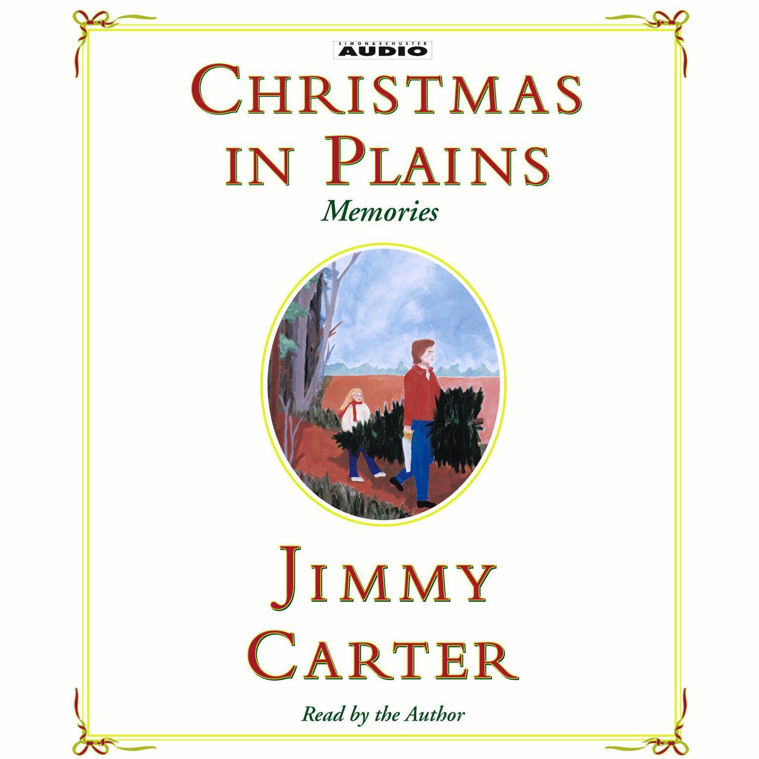 Printable Christmas In Plains: Memories Audiobook Cover Art