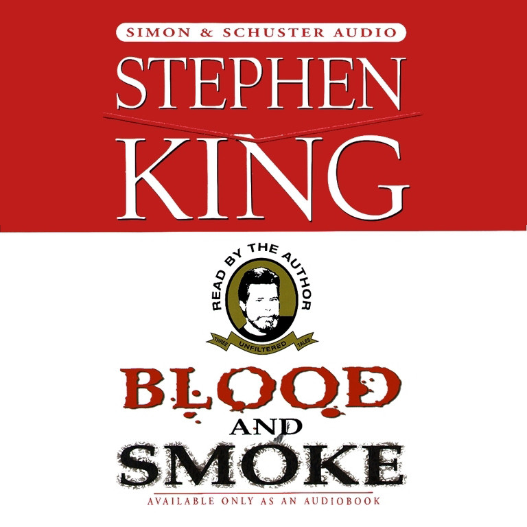 Printable Blood And Smoke Audiobook Cover Art