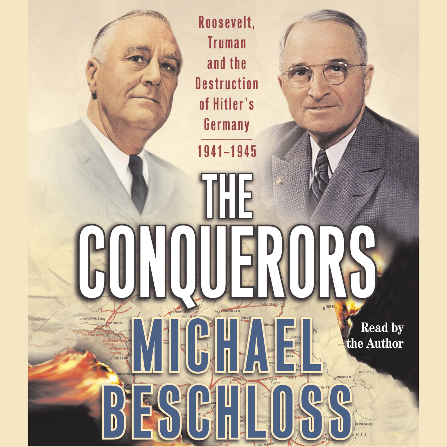 Printable The Conquerors: Roosevelt, Truman and the Destruction of Hitler's Germany, 1941–1945 Audiobook Cover Art