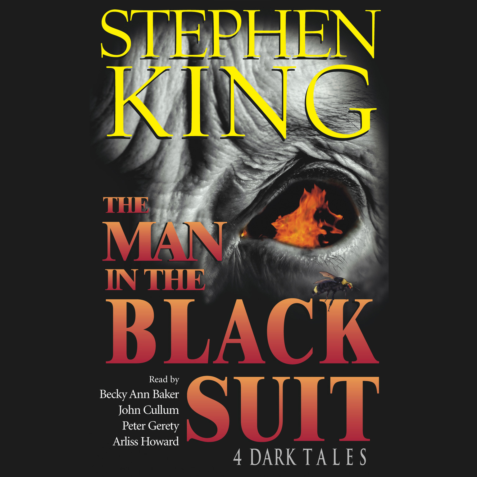 Printable The Man in the Black Suit: 4 Dark Tales Audiobook Cover Art