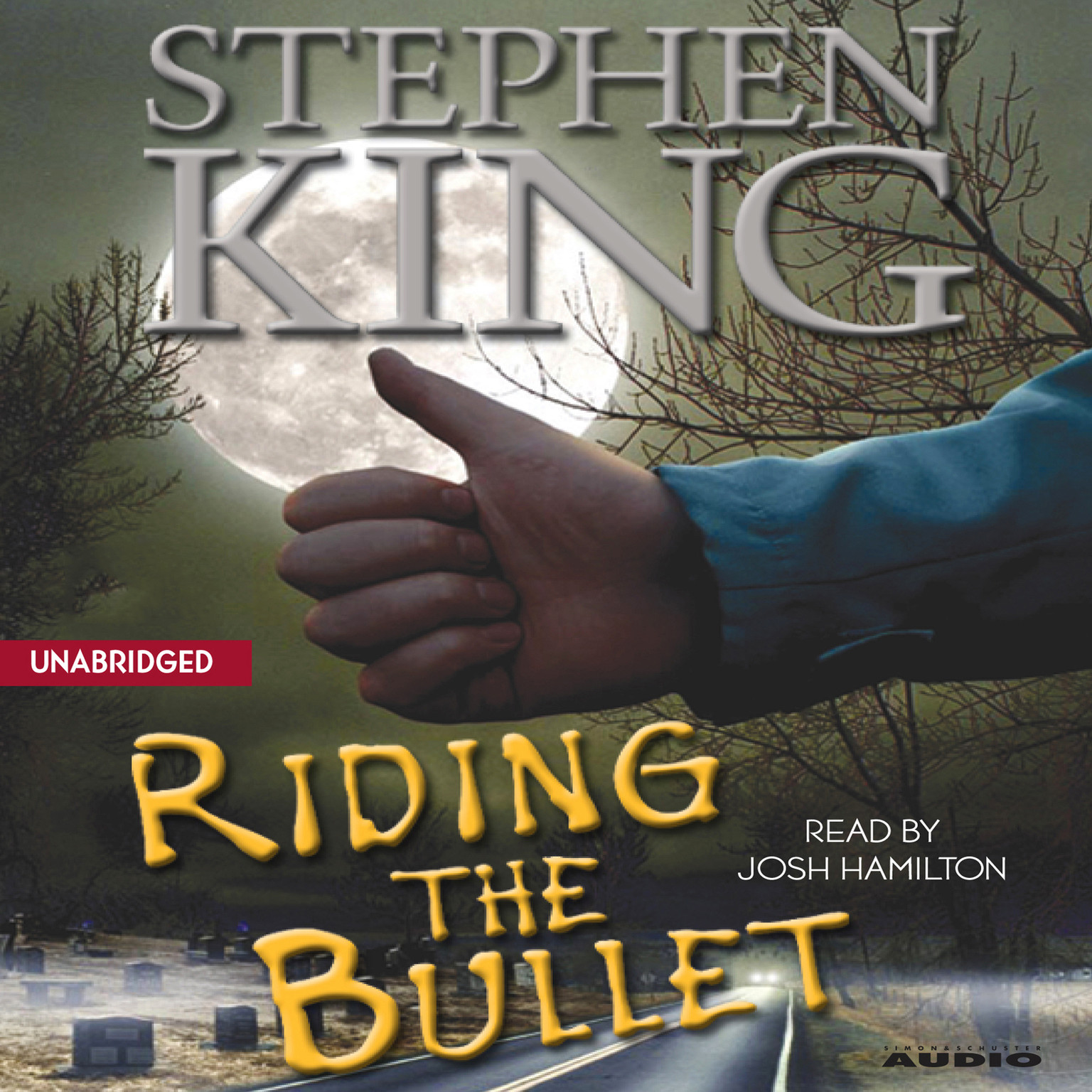 Printable Riding the Bullet Audiobook Cover Art