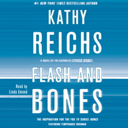 Printable Flash and Bones: A Novel Audiobook Cover Art
