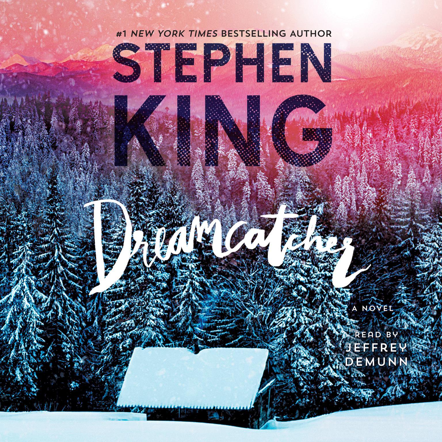 Printable Dreamcatcher Movie-Tie In Audiobook Cover Art