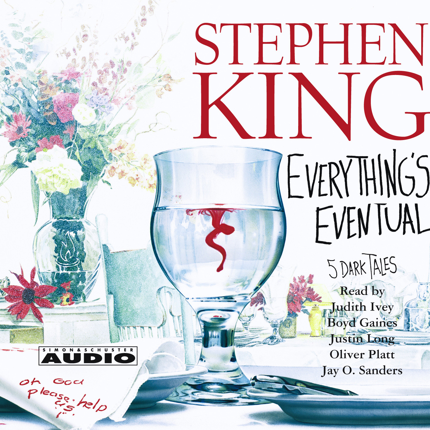 Printable Everything's Eventual: Five Dark Tales Audiobook Cover Art
