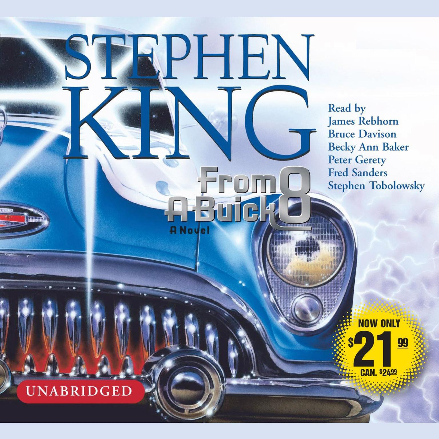 Printable From A Buick 8: A Novel Audiobook Cover Art