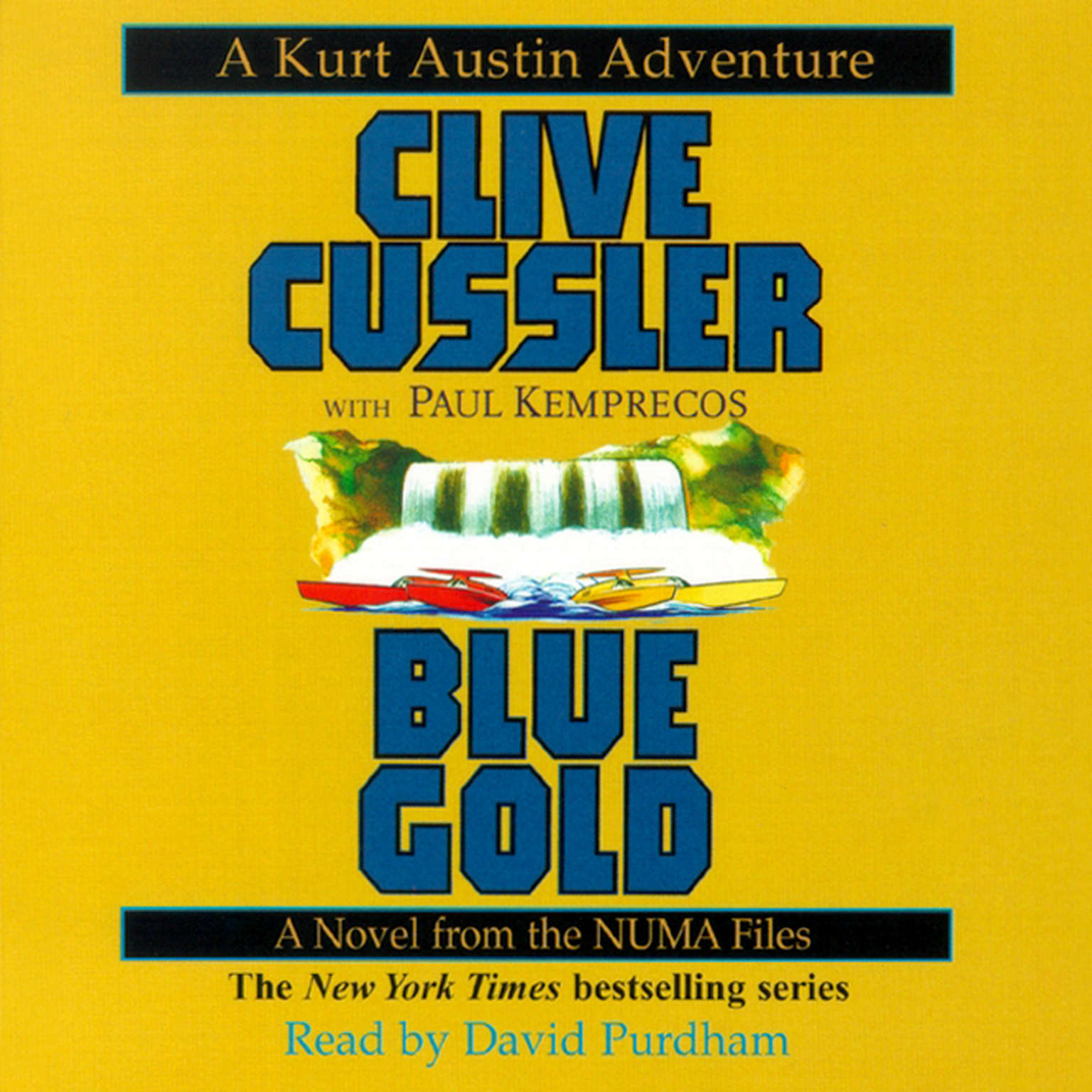Printable Blue Gold: A Novel from the NUMA Files Audiobook Cover Art