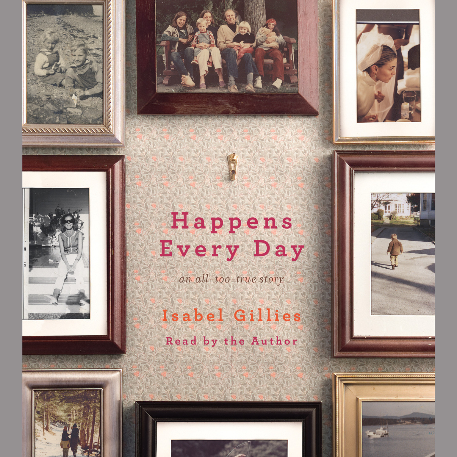 Printable Happens Every Day: An All-Too-True Story Audiobook Cover Art