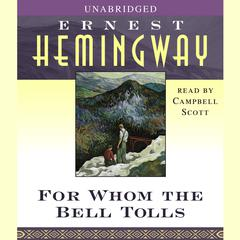 For Whom the Bell Tolls Audiobook, by