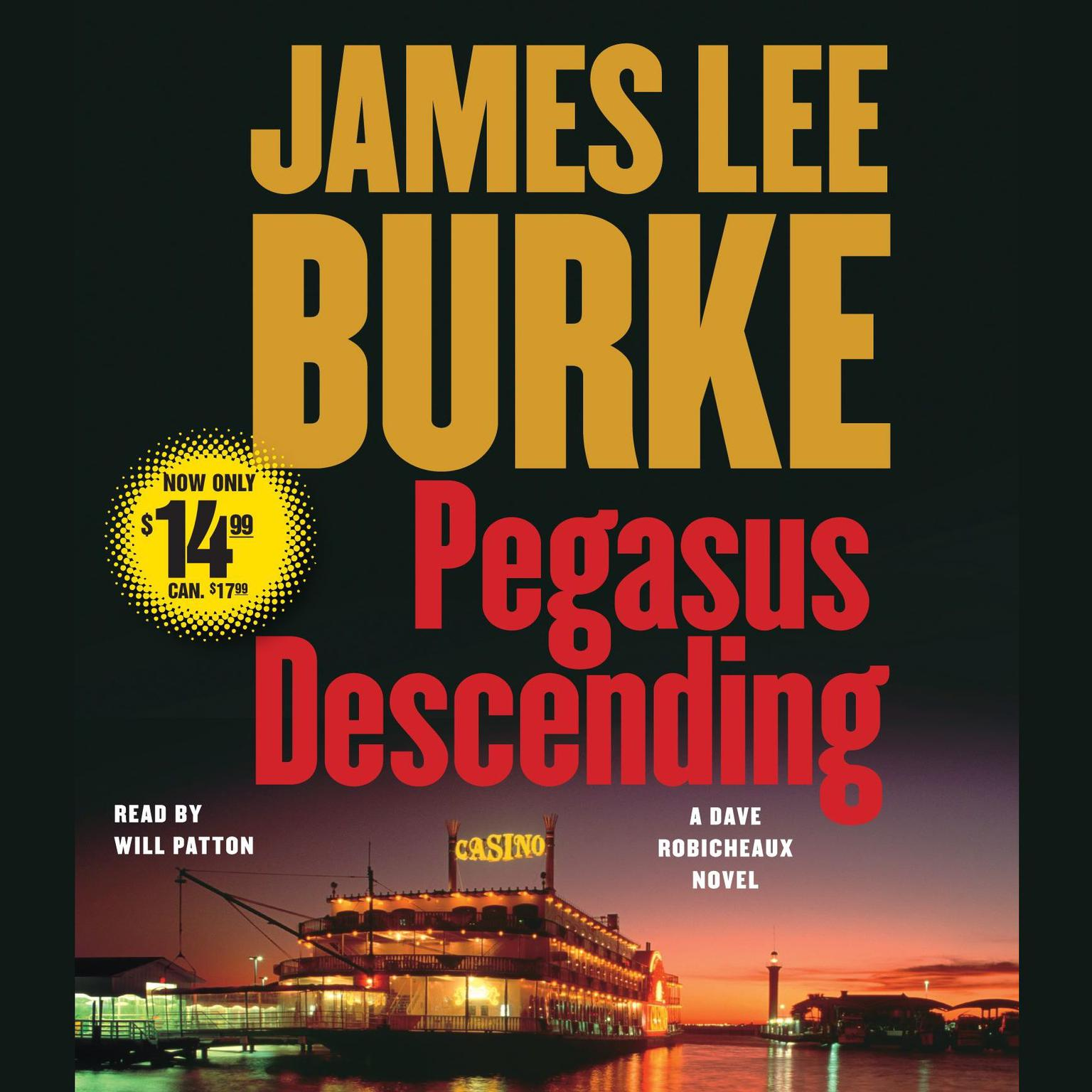 Printable Pegasus Descending: A Dave Robicheaux Novel Audiobook Cover Art